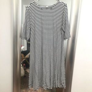 Cute striped old navy dress